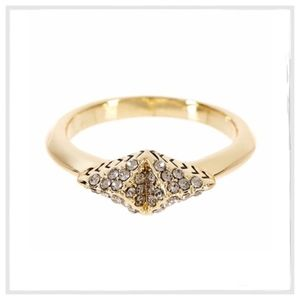 House of Harlow Sama Pave Ring